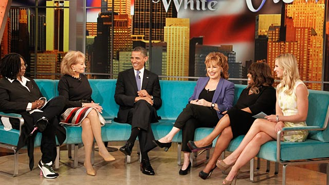 "PHOTO: An exclusive interview with President Barack Obamawill air on ABCs ""The View,"""