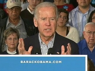 Watch: Biden, Crowd Get Testy Over Low Audio Levels