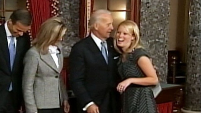VIDEO: 'No dates till you're 30' is Biden's repeated advice to senators' female kin.