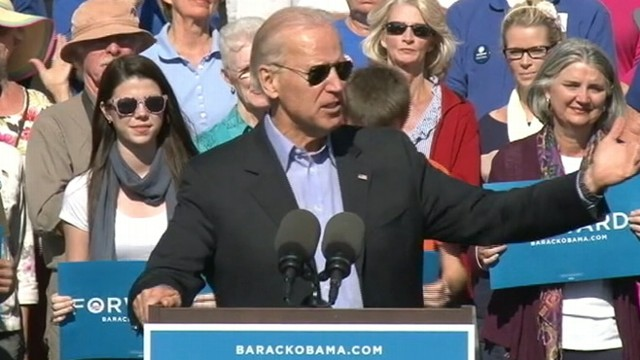 """VIDEO: Vice president calls ad playing in Ohio """"flagrantly dishonest."""""""