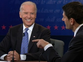 Watch: Laughing Joe Biden: Smiles at the Debate