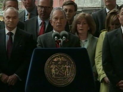 VIDEO: NYC mayor reaffirms Ground Zero rebuilding efforts following bin Ladens death.