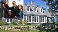 PHOTO President Obama and his family will vacation at Blue Heron Farm on Martha's Vineyard. Renting the farm is expected to cost tens of thousands.