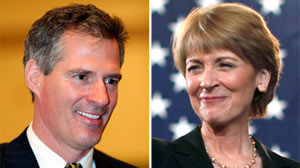 Scott Brown Martha Coakley