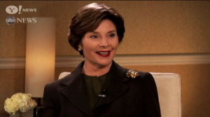 Laura bush support for gay marriage