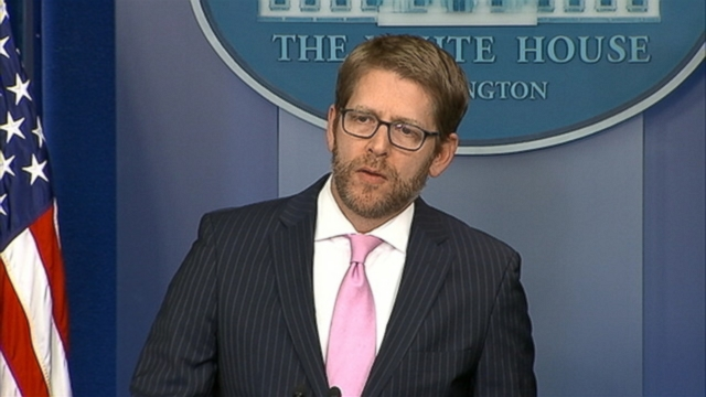 VIDEO: Jay Carney responds to comments made in the former defense secretarys new memoir.