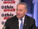 PHOTO: Senator Charles Schumer (D) New York on This Week