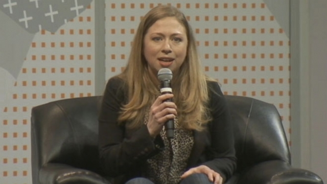 Former first daughter spoke to a room full of tech buffs at the festival in Austin, Texas.