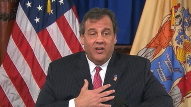 VIDEO: New Jersey governor says he never asked to meet Mark Sokolich during his re-election campaign.