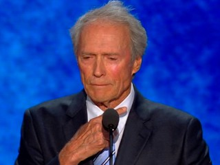 Clint Eastwood Chair Stunt Upstages Mitt Romney