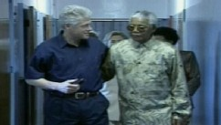 VIDEO: Bill Clinton praises Nelson Mandela for defending him during sex scandal.