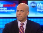 PHOTO: Newark, New Jersey Mayor Cory Booker (D) on This Week