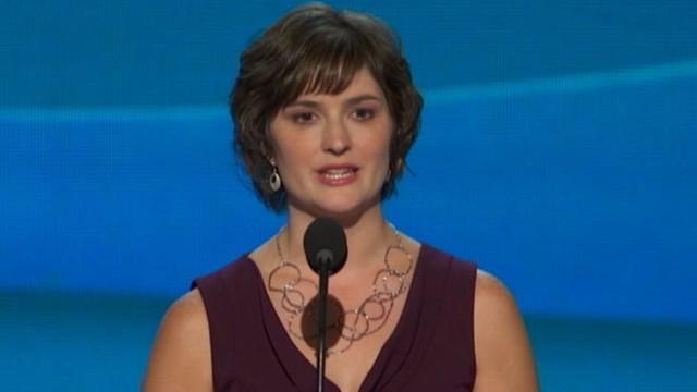 VIDEO: Feminist activist addresses the DNC in Charlotte.