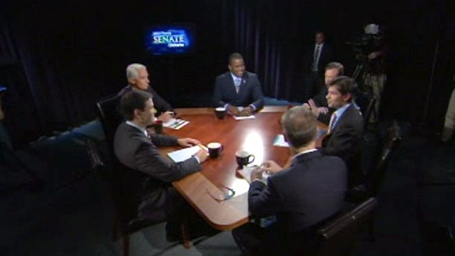 VIDEO: Gov. Crist, Rep. Meek and Marco Rubio debate Social Security strategies.