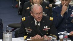 VIDEO: Gen. Martin Dempsey, chairman of the Joint Chiefs of Staff, testified before the Senate Armed Services Committee.
