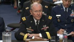 "VIDEO: Gen. Martin Dempsey on the actions needed to force the terrorist group into an ""untenable position."""