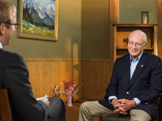 Cheney's Heart Was 'At an End'