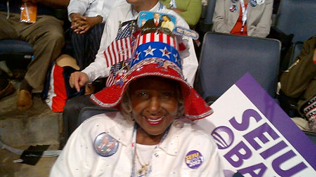 PHOTO: ABC's Jake Tapper tweeted this image of Kathleen Harmon of San Diego.