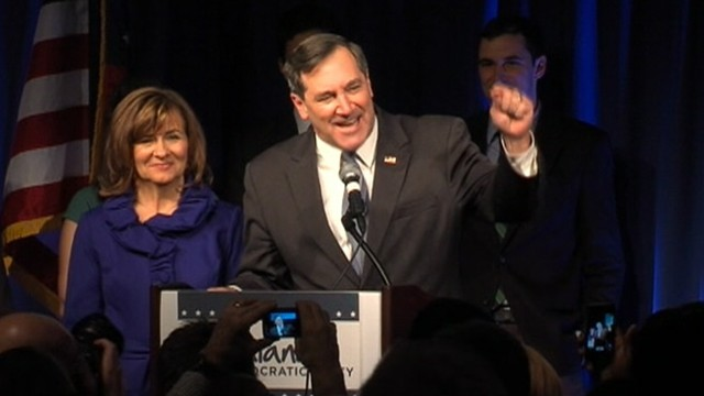 VIDEO: Conservative Democrat replaces Republican Sen. Richard Lugar.