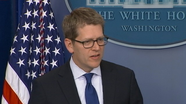 VIDEO: White House Press Secretary Jay Carney refers to Jonathan Karls questions as a little soliloquy.