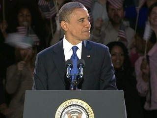 Watch: President Obama's Victory Speech 2012