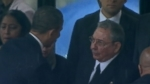 VIDEO: Obama Criticized for Handshake With Raul Castro
