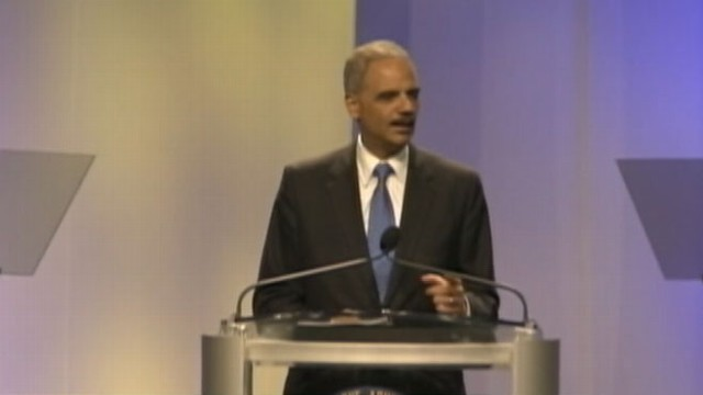 VIDEO: Attorney general on DOJ investigation into possible civil rights charges during NAACP Conference.
