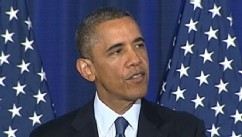 VIDEO: President Barack Obama details counterterrorism priorities, addresses heckler during speech.