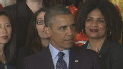 VIDEO: President Obama pushes Congress to tackle unequal pay among men and women in U.S.