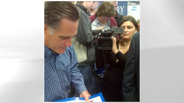 PHOTO: ABC's Emily Friedman spent a year on the campaign trail covering Mitt Romney.