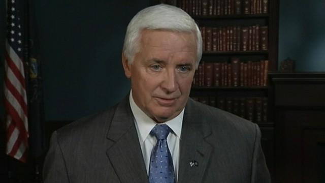 VIDEO: Gov. Tom Corbett compares gay marriage to marriage between siblings.