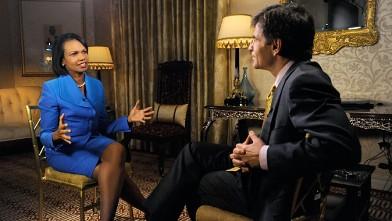 condoleezza rice on new arab world video abc news