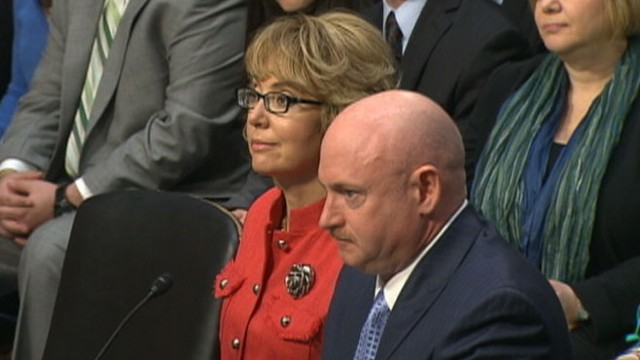 VIDEO: Gabrielle Giffords testifies at Senate gun control hearing.