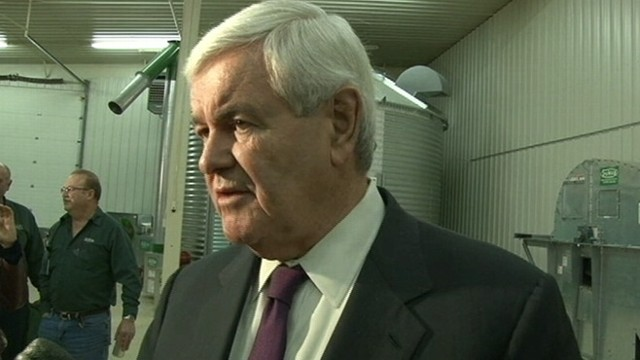 VIDEO: Former House Speaker defends his role with mortgage giant Freddie Mac.