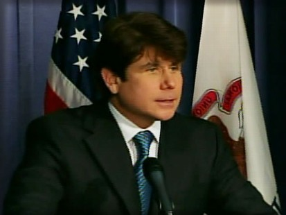 Video of Illinois Governor Rod Blagojevich professing his innocence.