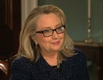 "PHOTO: In her final television interview as Secretary of State Hillary Clinton told ABCs Cynthia McFadden that she is ""flattered and honored"" at the intense interest in her running for president in 2016."