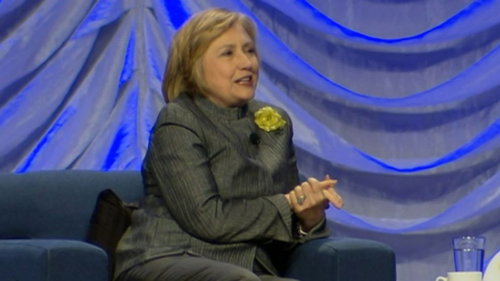 Former Secretary of State admits she has a weakness for chocolate.