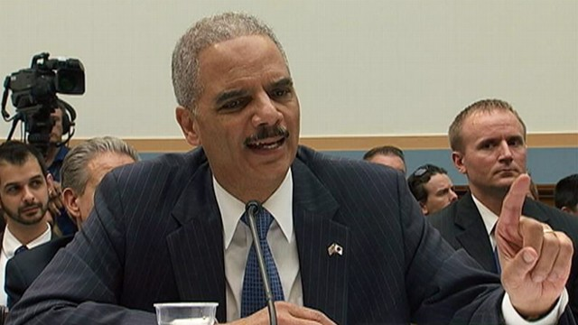 VIDEO: Rep. Darrell Issa grills Eric Holder about Obama administrations Labor Department nominee.