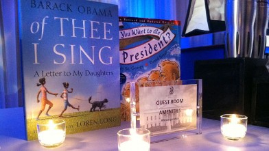 PHOTO: The Ritz Carlton Hotel in Washington D.C. prepares for the presidential inauguration with a 'Tweetbar,' Obama-themed amenities.