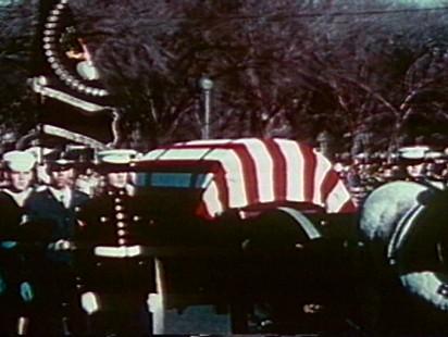 Video of President John F. Kennedys funeral.