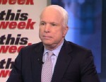 PHOTO: Senator John McCain (R) Arizona on This Week