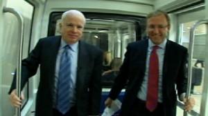 Video of Senator John McCain on the Subway Series with Jonathan Karl.