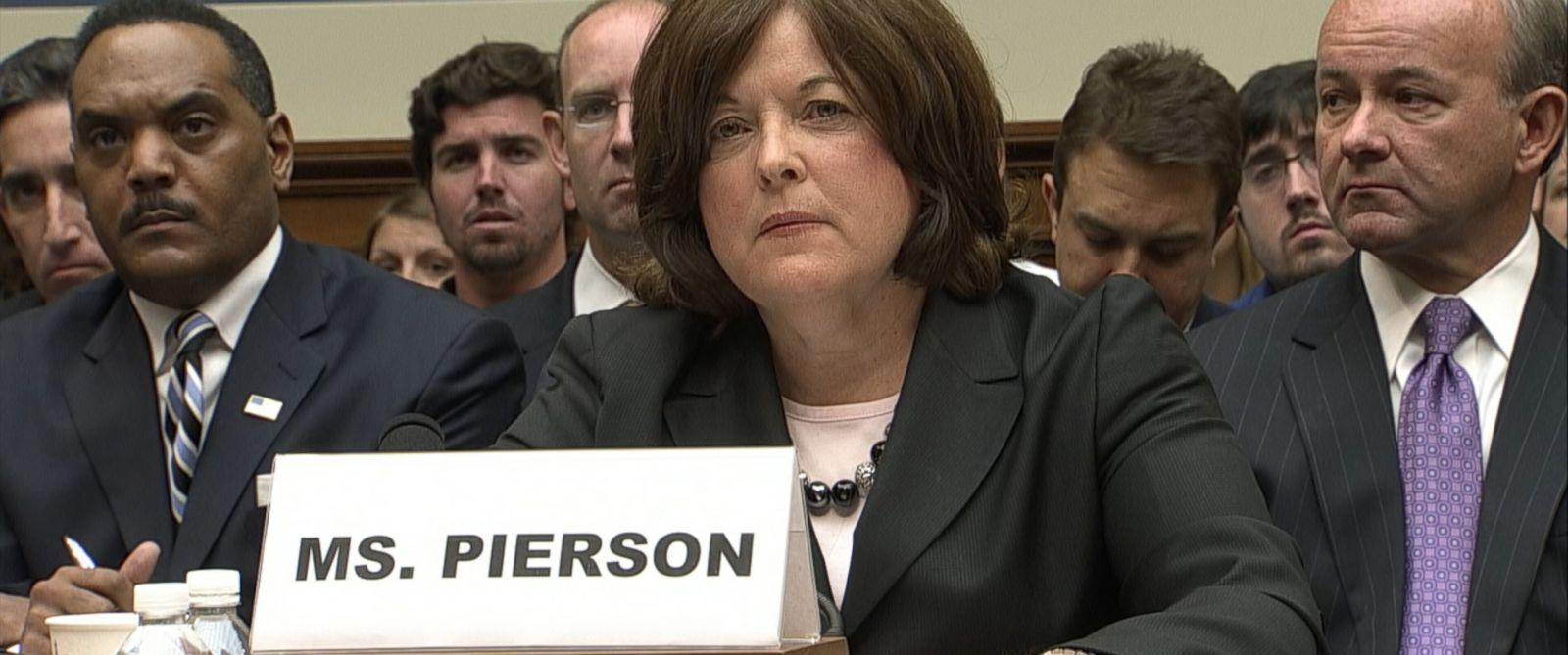 PHOTO: Julia Pierson, the Secret Service Director, testifies before Congress, Sept. 30, 2014.