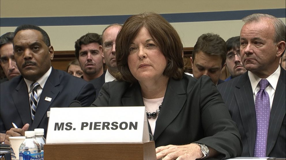 PHOTO: Julia Pierson, the Secret Service Director, testifies bef