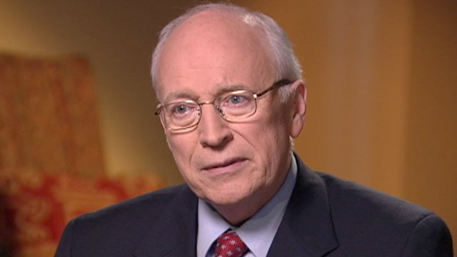 PHOTO:&nbsp;Jonathan Karl interviews former Vice President Dick Cheney.