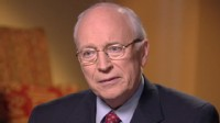 PHOTO:??Jonathan Karl interviews former Vice President Dick Cheney.