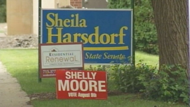 VIDEO: Voters turnout for an election that will decide 6 state senate seats.