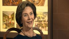 PHOTO: Former First Lady Laura Bush is interviewed by ABCs Jon Karl on Wednesday, April 8, 2015