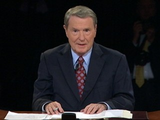 Watch: Jim Lehrer Tangles as Debate Moderator
