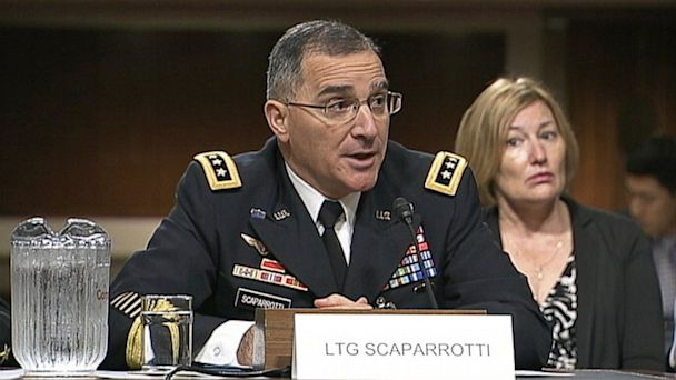 abc lt gen curtis scaparrotti ll 130730 16x9 608 Top Army Officer Defends Keeping Chain of Command in Sex Assault Cases